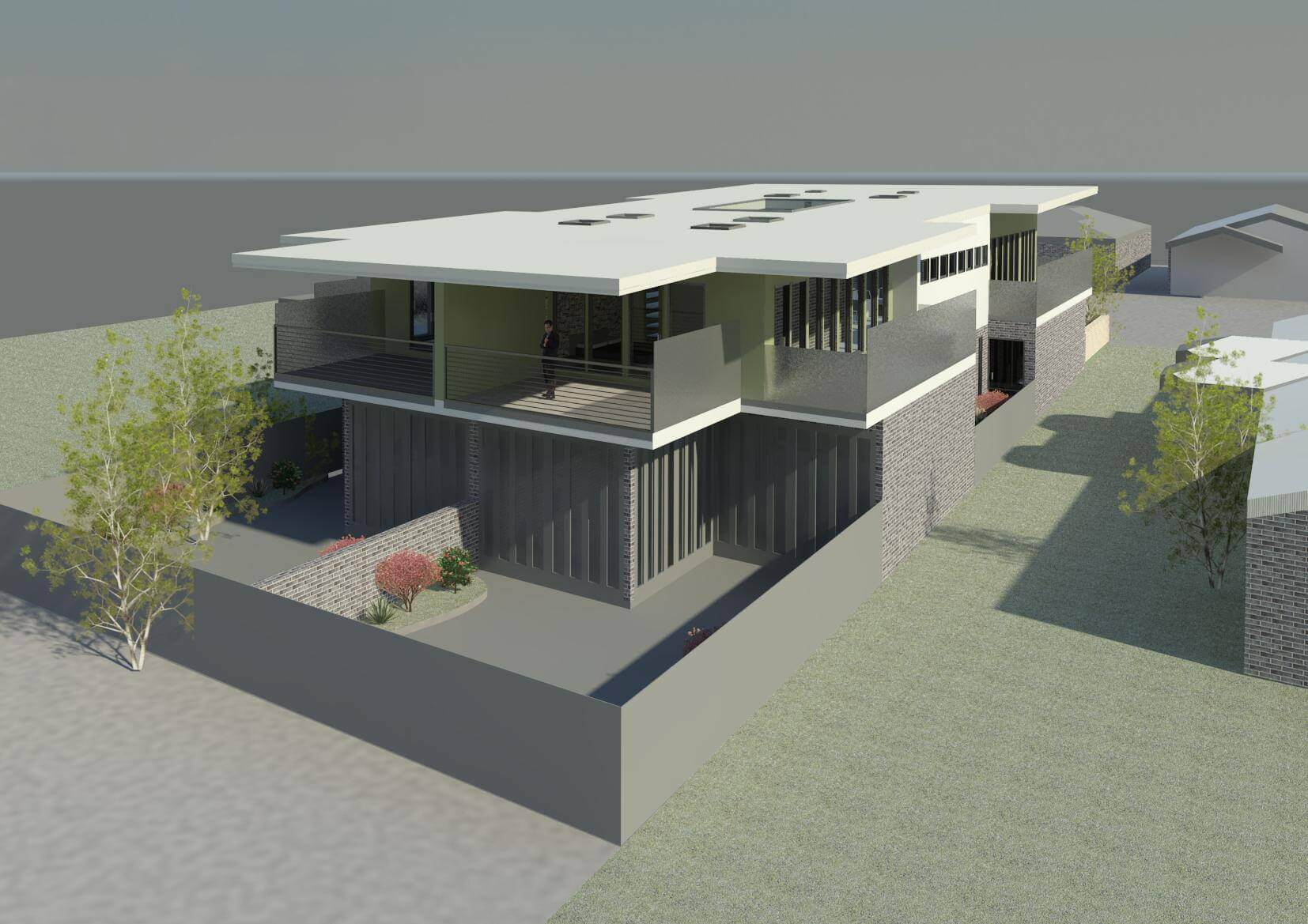 East Malvern 3D Rear View