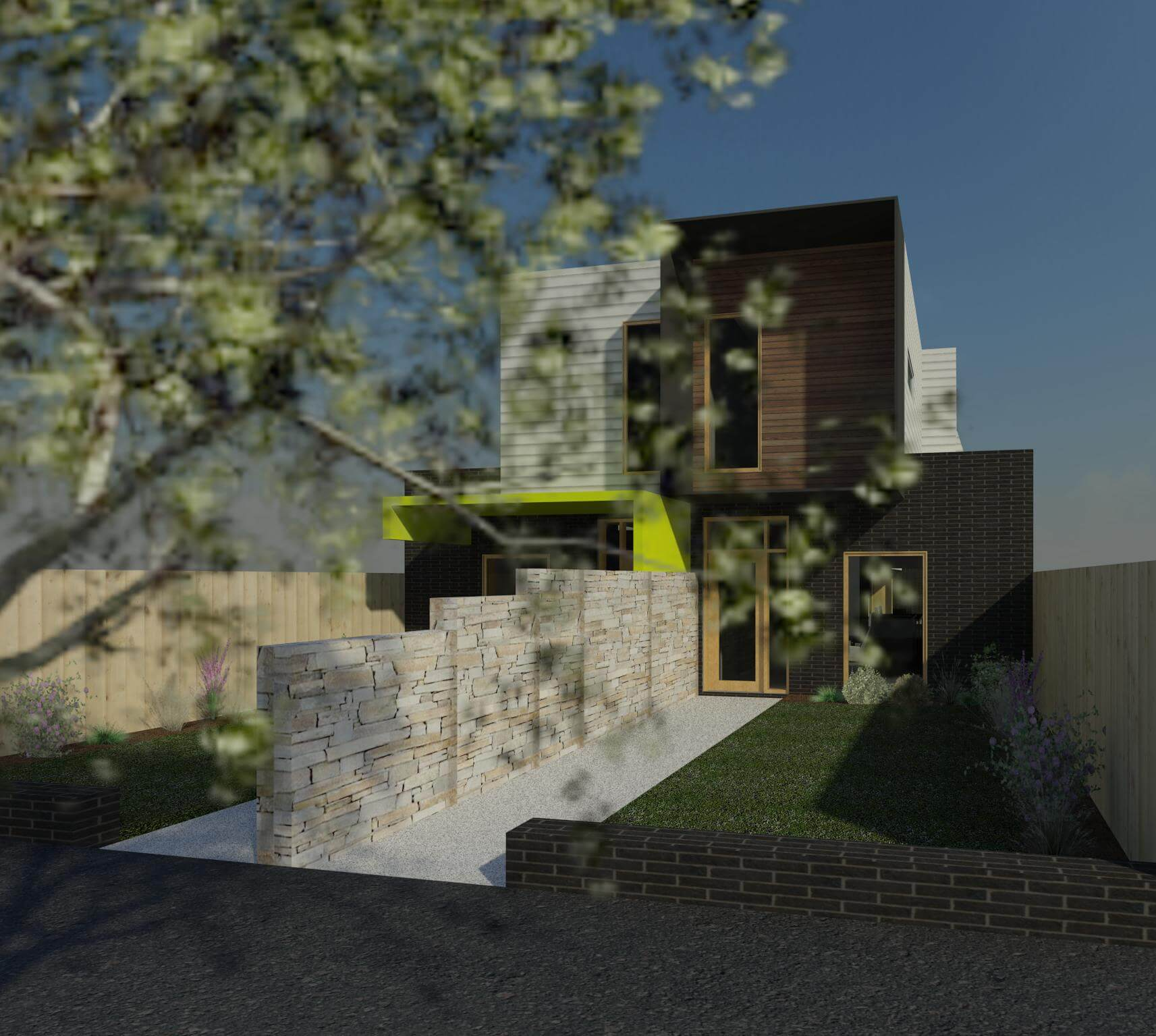 Brunswick East 3D View
