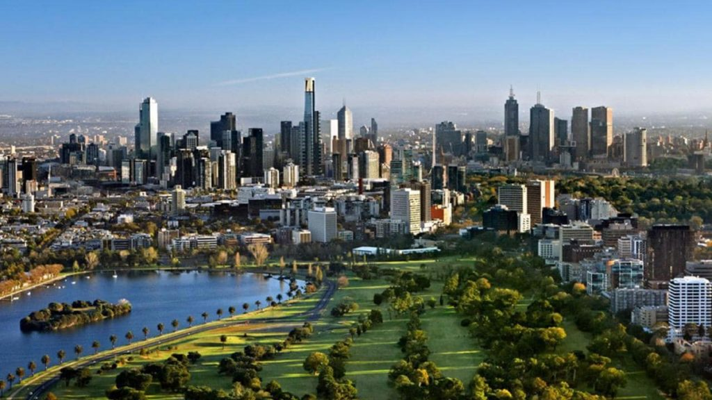 Melbourne Skyline. Source: The Australian.